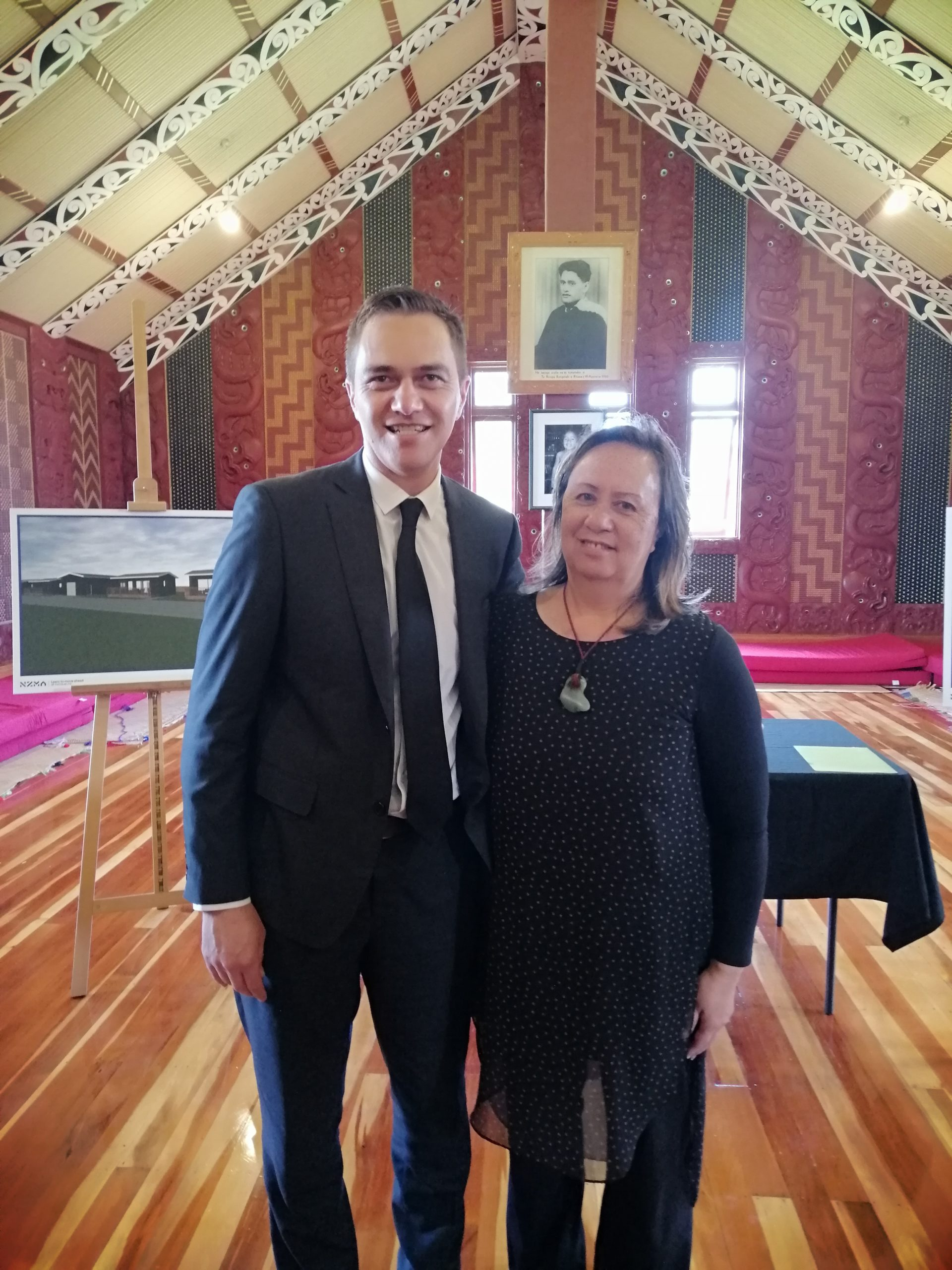 CEO Kylie Wilison NZMA and Caroline Morgan Hoani Waititi Marae Trustee